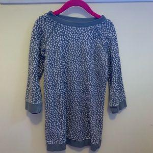 Gap Kids Leopard Velour Dress - Size 4 NWOT